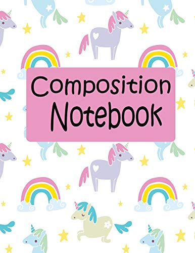 Composition Notebook: Composition Notebook Wide Ruled Primary Journal Blank Note Unicorns Rainbows Cute for Writing to Drawing Space, Exercise - Space Dog Kostüm