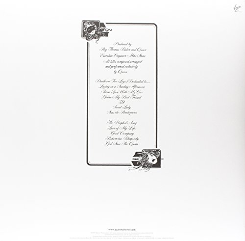 A Night at the Opera (Limited Black Vinyl) [Vinyl LP] - 2
