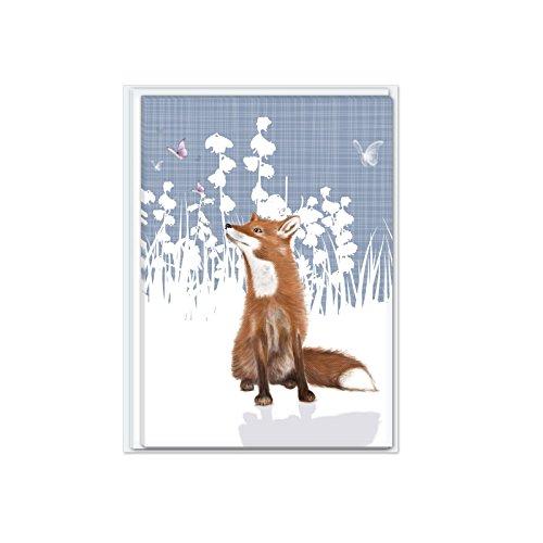 rspb-notecard-pack-fox