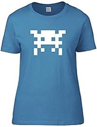 Space Arcade Invader - 1980s 8 bit Arcade Game Women's T-Shirt