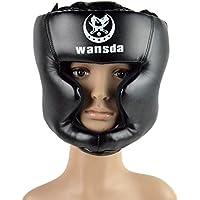 Greatstorys de boxe casque fermé type de casque de boxe Sparring MMA Muay Thai Kick Brace protection de la tête