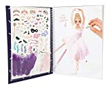 Depesche 10195 - Malbuch mit Stickern Create your Fantasy Model von Depesche