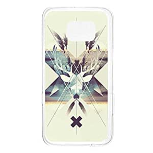 a AND b Designer Printed Mobile Back Cover / Back Case For Samsung Galaxy S6 Edge (SG_S6Edge_3210)