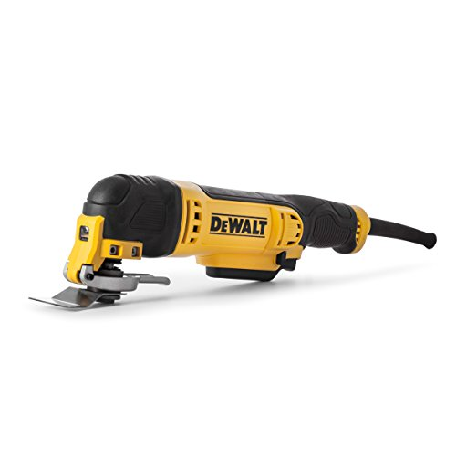 Side view - DeWalt DWE315KT 300W Oscillating Multi-Tool with Quick Change Tool