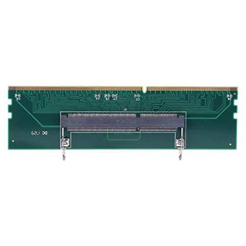 Panamami DDR3 Notebook Speicher zu Desktop Speicheranschluss Adapterkarte 240 zu 204P SO-DIMM zu DIMM Speicheradapter Computerzubehör - Grün