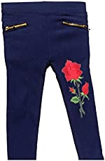 RZ lecort Party WEAR & Casual Cotton Jegging for 2-3 Year Baby Girls Pack of (1)