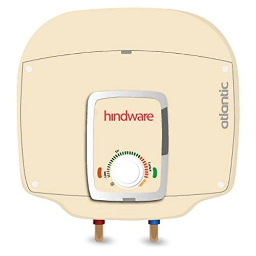 Hindware Atlantic 10 Ltrs. ABS Body Ivory Colour Water Heater Geyser Ondeo Series