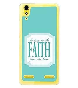 ifasho Designer Phone Back Case Cover Lenovo A6000 Plus :: Lenovo A6000+ :: Lenovo A6000 ( Bull Prisma Type )