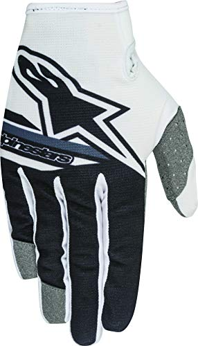 Alpinestars - guanti moto cross bambino alpinestars 2018 youth radar flight white black - gual13a - xs