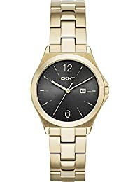 DKNY NY2366 - Reloj de pulsera Mujer, Acero inoxidable, color Oro