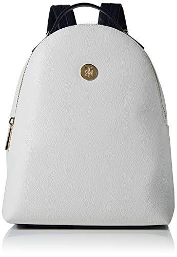 Tommy Hilfiger Th Core Mini Backpack - Zaini Donna, Bianco (Bright White), 1x1x1 cm (W x H L)