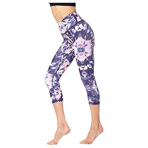 Xinvivion leggings da yoga per donna - pantaloni da fitness a vita alta snellenti a vita alta