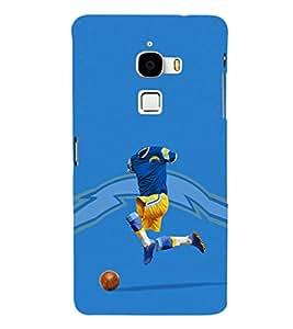EPICCASE Flashy footballplayer Mobile Back Case Cover For LeTV Le Max (Designer Case)