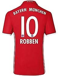 adidas Herren Fußball/Heim-Trikot Fc Bayern München Heimtrikot Replica