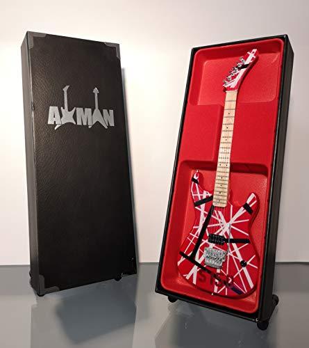 Eddie Van Halen (Van Halen): Kramer 5150 Baretta EVH - Miniature Guitar  Replica (UK Seller)