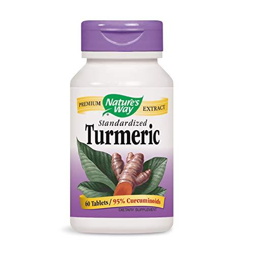 Nature's Way, Kurkuma standardisiert, 60 Tabletten - Tabletten Natures Way