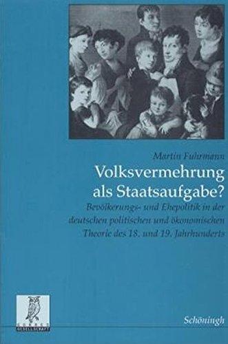 Volksvermehrung als Staatsaufgabe? (Rechts- und Staatswissenschaftliche Veröffentlichungen der Görres-Gesellschaft)