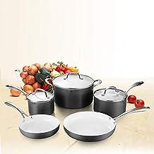 COOKSMARK - Juego de utensilios de cocina antiadherentes resistentes a los arañazos, de cerámica,