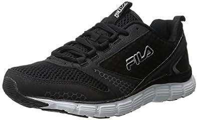 Fila Men s Memory Windstar Running Shoe Black/Black/Metallic Silver 10 D(M) US