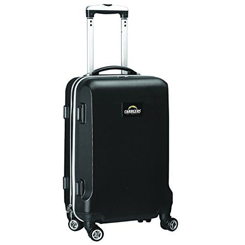 DENCO NFL Los Angeles Ladegeräte Handgepäck Koffer Spinner, schwarz