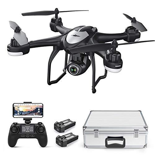 Potensic Drone GPS Professionale T18 FPV con Telecamera 120 ° Grandangolo Regolabile HD 1080P Dual...