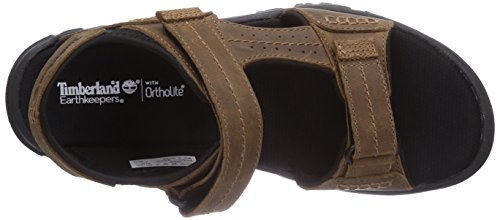 Timberland  Crawley FTP_EK Crawley Sandal, Sandales ouvertes hommes Marron - Brown (Brown)