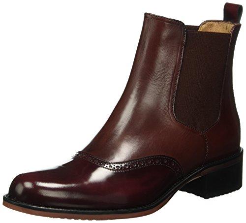 LottusseS8817 - Stivali bassi non imbottiti Donna , Rosso (Rot (Eaton Burdeos)), 36