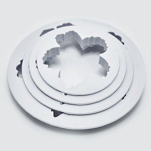 ingstrose Blume Blütenblatt für Fondant Zucker Handwerk Kuchen Cookies Formstanzer Cutter Küche Werkzeug ()