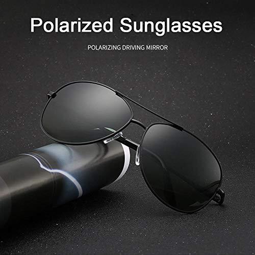 xiangpian183 Übergroße Brillen Klassische Designer-Sonnenbrillen Fashion Style UV400-Shining Polarized Sonnenbrillen Sonnenschutz Retro Driving Sonnenbrille mit Etui