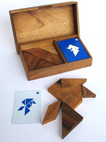 Knobeln und grübeln mit nur 7 Formen – Tangram