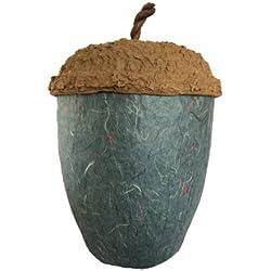 Biourna de cremación con forma de bellota