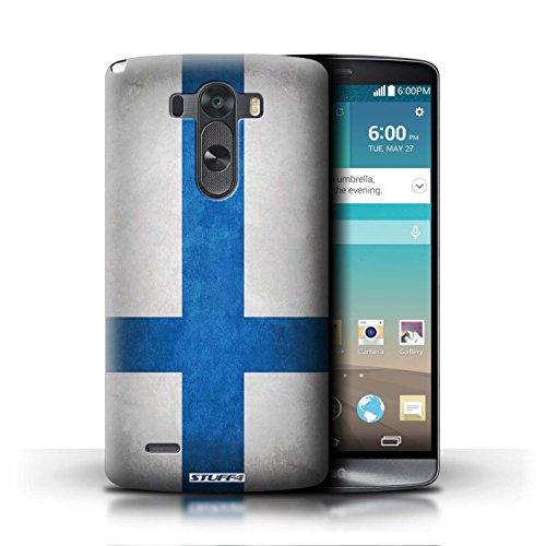 Kobalt® Imprimé Etui / Coque pour LG G3/D850/D855 / Italie/italien conception / Série Drapeau Finlande/finlandais
