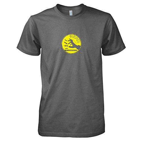 Bioshock Kostüm - Texlab Plasmids - Herren T-Shirt, Größe L, Grau