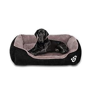 FRISTONE Haustierbett für katzen, kleine Hunde, mittlere Hunde - Bieten Sie Ihrem Vierbeiner ein eigenes Bett! Endlich bekommt Ihr Hund ein eigenes Bett, das kuschelig und gemütlich ist. FRISTONE möchte, dass sich Ihr Vierbeiner wie ein Familienmitg...