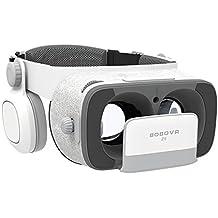 BOBOVR Z5 3D VR Gafas de Realidad Virtual VR 3D VR Headset Gafas para Ver 3D Películas con iPhone 6s/6 Plus/6/5S/5C/5 Samsung Galaxy S5/S6/Note4/Note5 & Otros 4.7~6.2 Teléfonos Celulare