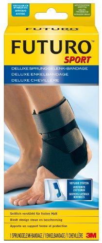 futuro bandagen FUTURO FUT46645 Sport Sprunggelenk-Bandage, beidseitig tragbar, Einheitsgröße