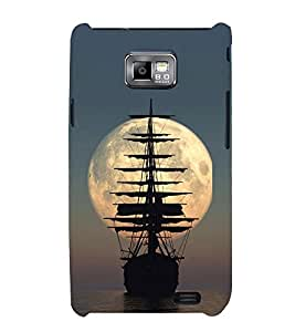 PrintVisa Mysterious Ancient Ship 3D Hard Polycarbonate Designer Back Case Cover for Samsung Galaxy S2 i9100 :: Samsung I9100 Galaxy S II