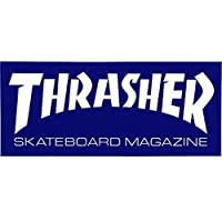 "Thrasher Skate Mag Standard Sticker blue 6"" Sticker"