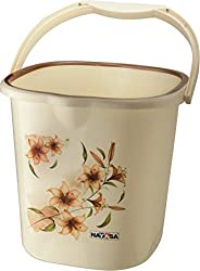 Nayasa Square Ring 25 Deluxe Bucket (25 Litres) (Brown)