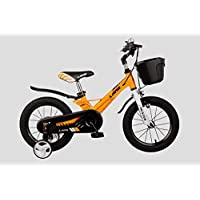 Lanq Hunter Kids Bike Alloy Children Bicycle,14 16 18 Inch Magnesium Alloy Frame Bikes
