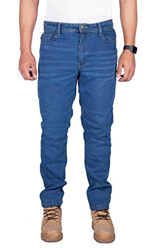 HB Premium, Jeans per uomo, Blu, W36/L32