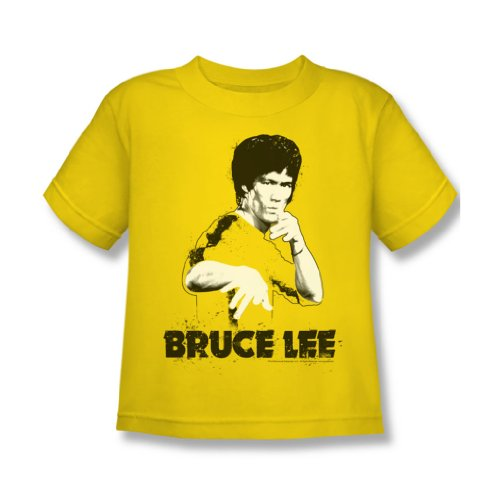 Bruce Lee - - Jaune Juvee Suit Splatter T-shirt en jaune, 4, Yellow