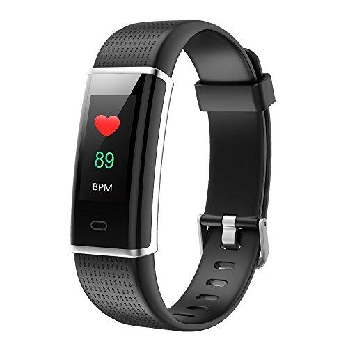 Fitness Armband Herzfrequenz Willful Smart Armband uhr IP68 Wasserdicht Sport Fitness Tracker Pulsmesser Aktivitätstracker mit Schrittzähler,Kalorienzähler,Schlafmonitor,Vibrationsalarm,Whatsapp SMS...