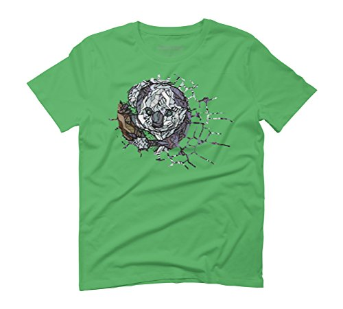 ABSTRACT KOALA Men's Graphic T-Shirt - Design By Humans Green