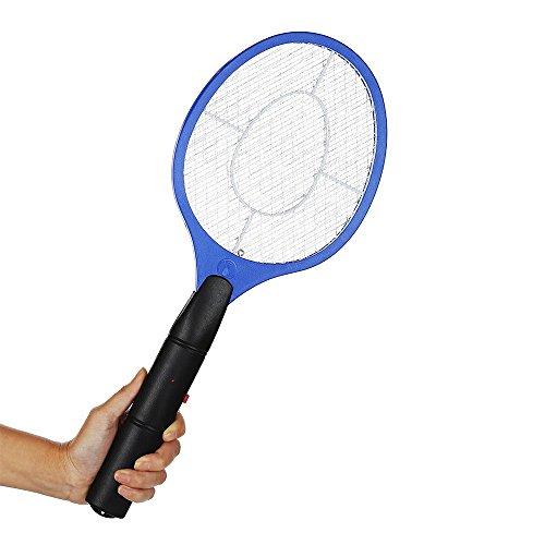 Elektrische Fliegenklatsche, FJROnline Mosquito Killer Schläger Fly Killer racke Mosquito Elektrische Mückenschutz Röhrich Sofort Insekten Wasp Pest 4000 Volt Kill Bug