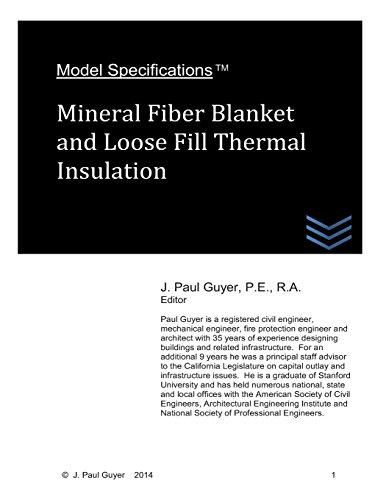 model-specifications-mineral-fiber-blanket-and-loose-fill-thermal-insulation