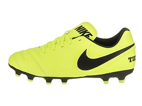 Nike Jr. Tiempo Rio Iii Fg, Chaussures de Football Mixte Enfant Jaune