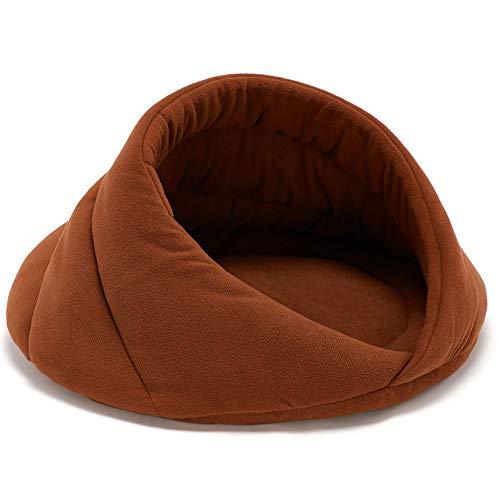 Warmes Nest des Nestes des tiefen Welpen des Schlafes Welpenbaby wie Schlaf vierjahreszeiten Universalnest des Nestes,Camel,M