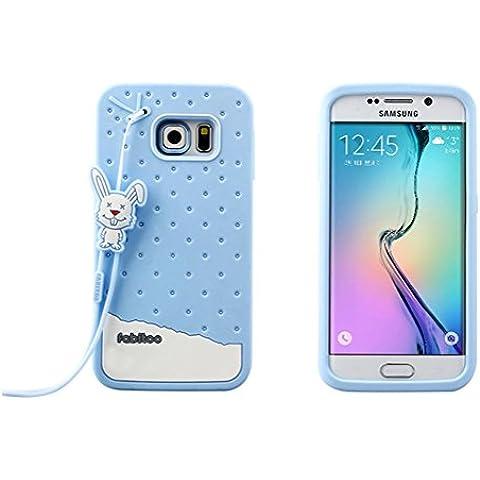 Macool tallo de hielo de silicona suave del gel de la cubierta protectora del caso que lleva de ventaja Samsung Galaxy S6