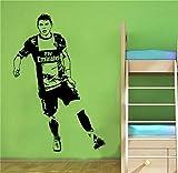 Adesivo per la casa del calciatore brasiliano Thiago Silva Decorazioni per la casa per soggiorno camera da letto